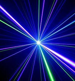 Laser DJ - RGB 800 mW 2